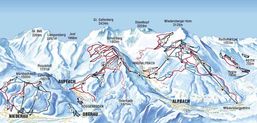 Austria_The-Ski-Juwel-area_Oberau_Ski-piste-map.png